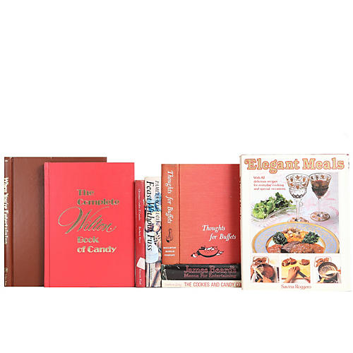Entertaining Cookbook Collection, S/8