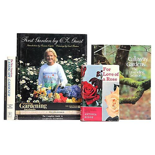 Regions & Seasons of Gardening, S/8
