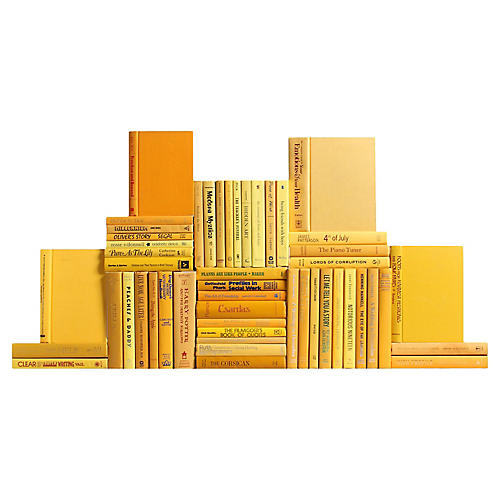 Yellow Book Wall, S/50