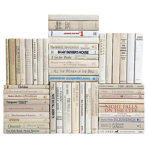 Retro Beach Book Wall, S/50