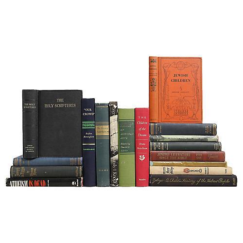 Jewish History & Literature, S/17