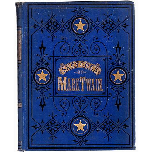 Mark Twain's Sketches, 1st Ed