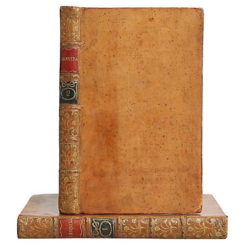 Leonidas: A Poem, Leather Pair 1770