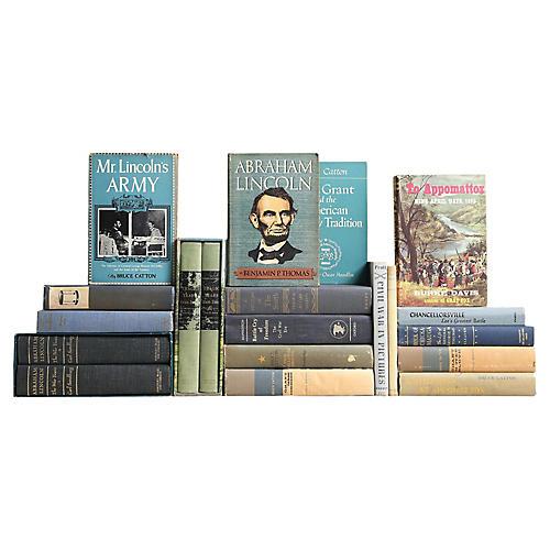 Midcentury Civil War Books, S/20