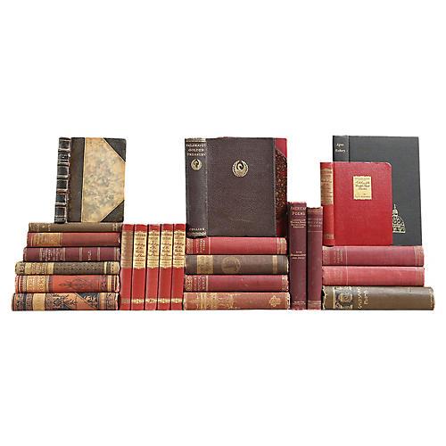 Antique Poetry Books, S/25