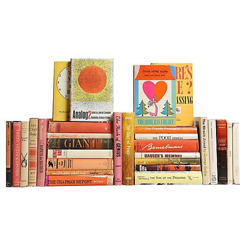 Midcentury Sunrise Dustjacket Books S/30