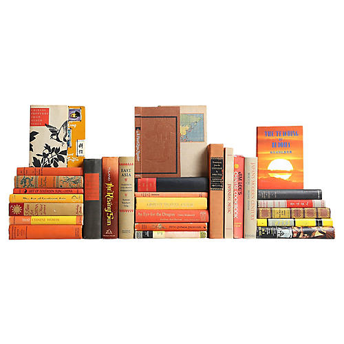 The Curated Bookshelf: Asian History Mix