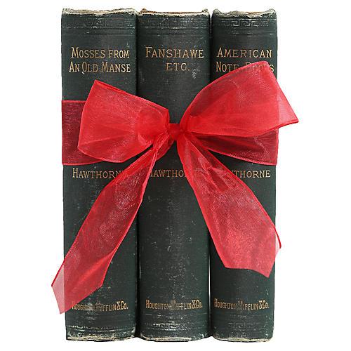 Antique Book Gift Set: Hawthorne Trio