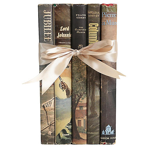 Dustjacket Novel Gift Set, S/5