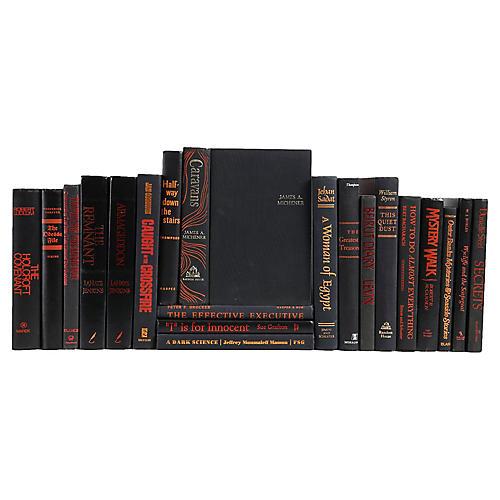 Retro Novels Book Set, S/20