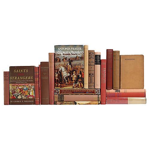 Midcentury British History Books, S/20