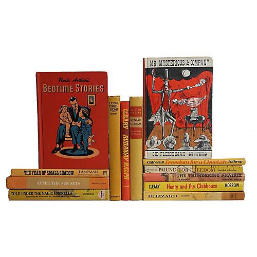 Vibrant Vintage Children's Books, S/13