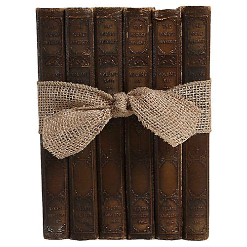 1920's Vintage Books: Pocket-Sized Mix