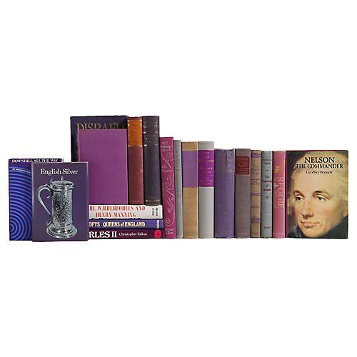 British History in Purple & Grey, S/20