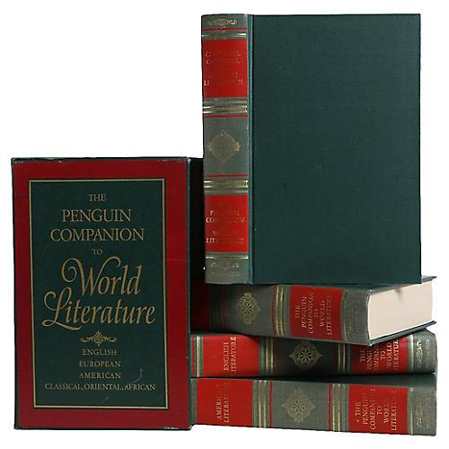 World Literature Vintage Books, S/4