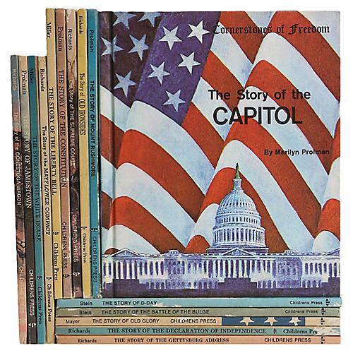 Children's Vintage History Books