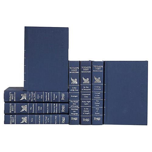 Blue & Silver Best Non-Fiction, S/8