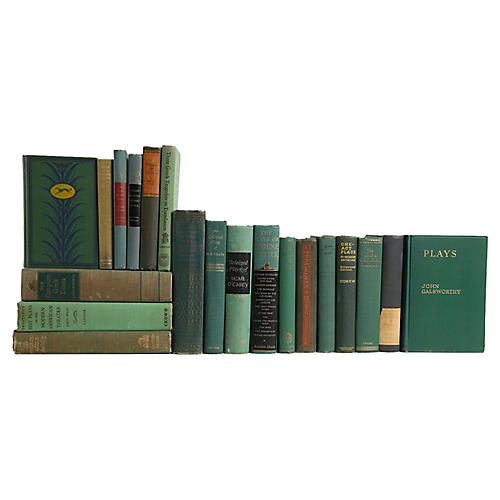 The Play: Midcentury Green Books, S/20