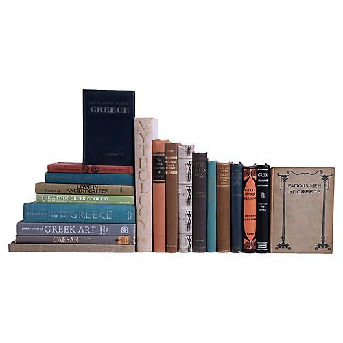 Greek Heritage Book Set, S/20