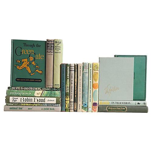 Stories For Boys & Girls in Green, S/20