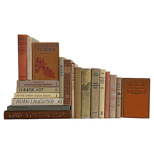 Asian History & Culture Book Set, S/20