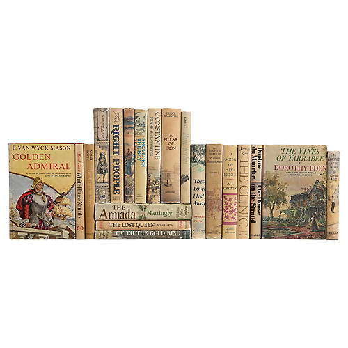 Decorative Books: Novels in Wheat, S/20
