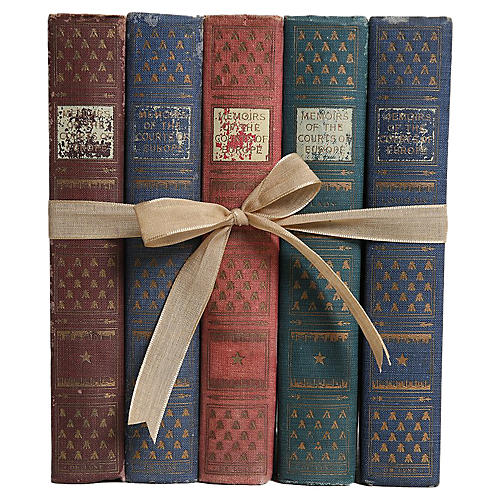 Courts of Europe Book Gift Set, S/5