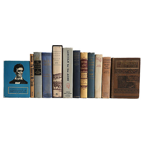 Lincoln's Legacy Book Set, S/12