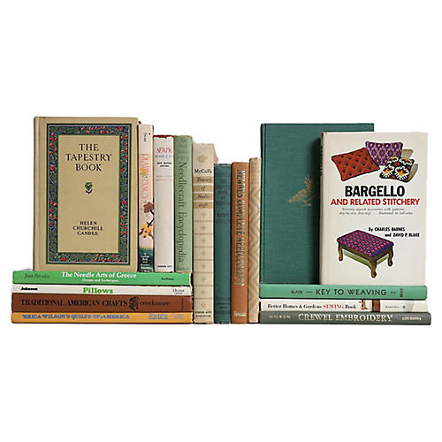 Needleworks Treasury Book Set, S/17