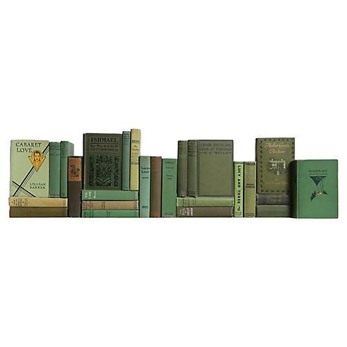 Vintage Novels in Green, S/25
