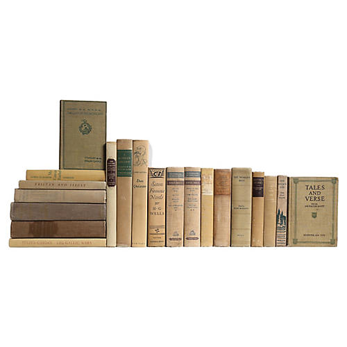 Khaki World Classics Book Set, S/20