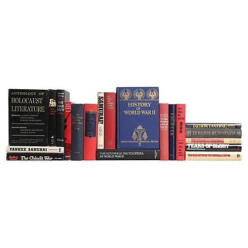 World War II Book Set, S/20