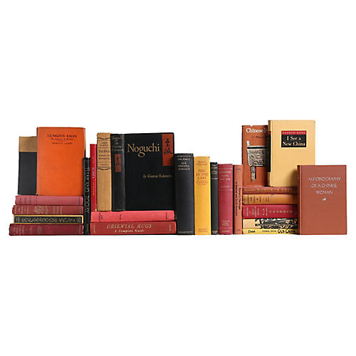 Imperial Far East Book Set, S/25