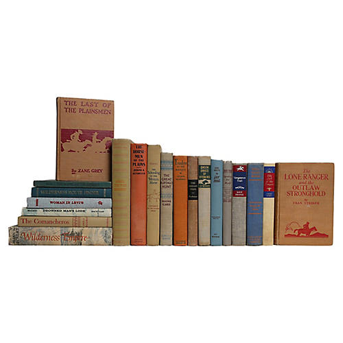 A Western Heritage Book Set, S/20