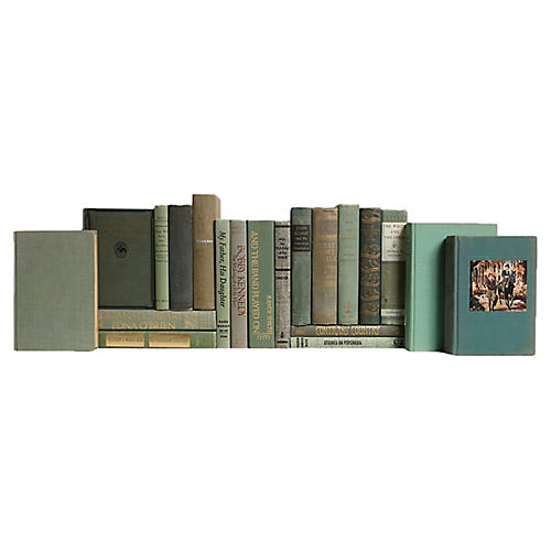 Midcentury Mossy Oak Book Set, S/20