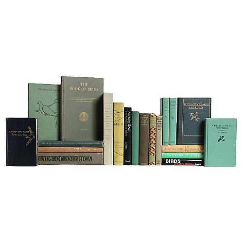 Bird Watchers Book Set, S/20