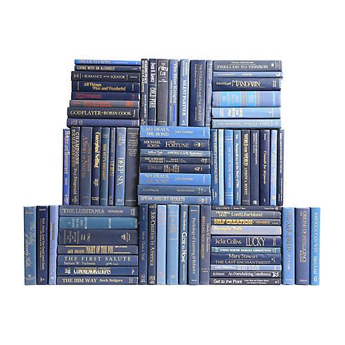 Retro Denim Book Wall, S/75