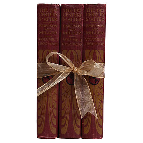 Vintage Book Gift Set: The 19th Century