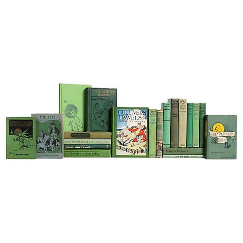 Stories for Boys & Girls in Apple Green