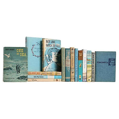 Children's Nautical Book Set, S/15