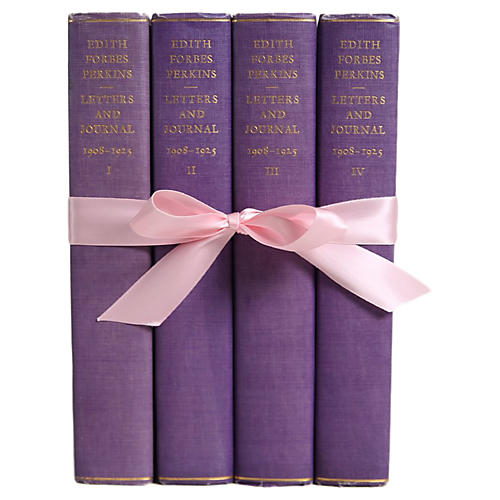 4-Vol Edith F. Perkins Book Set