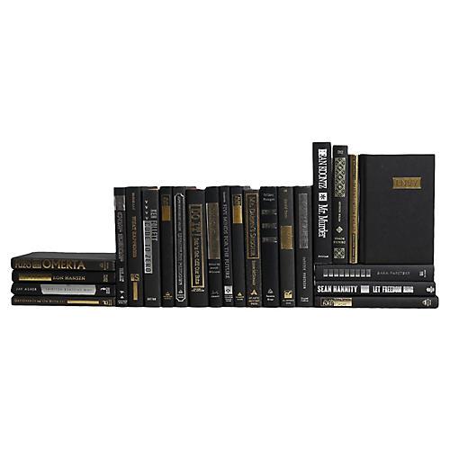 Black, Silver & Gold Books, S/24