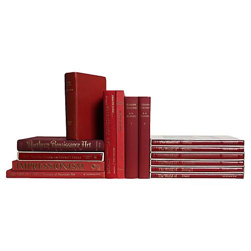 Crimson Art History Books, S/15