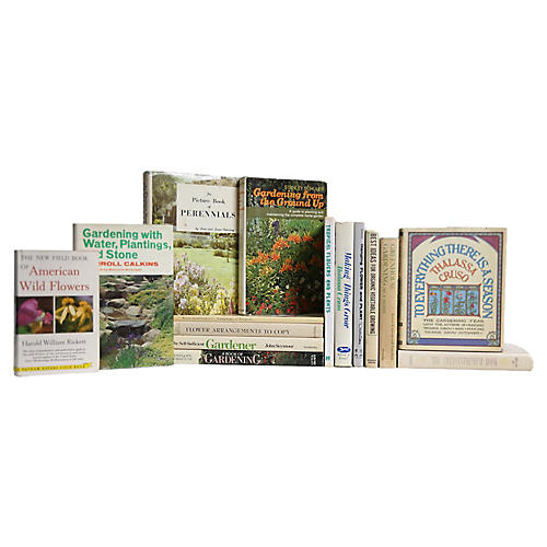 Garden Dust Jacket Books, S/15
