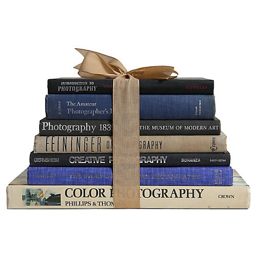Photography Books, S/7