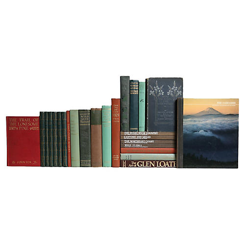 Outdoor Lovers Book Set, S/