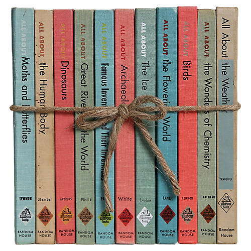 """""""All About"""" Books For Kids Gift Set"""