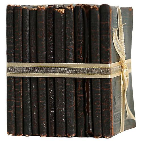 Book Gift Set: Tiny Leather Classics