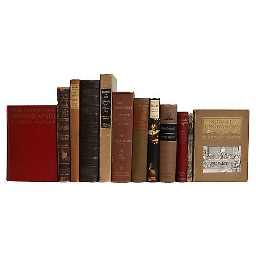 Antique World Art Books, S/12