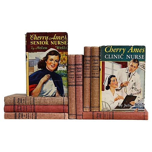 Cherry Ames Book Set, S/10